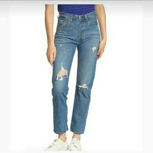 New LEVI'S 501 High Rise